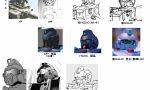 """【ガンプラ】HGUCブルーディスティニー1号機""""EXAM"""" どの頭部が好き?"""
