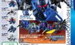 【ガンダム】ガシャポン 戦士 f 04 ブルーにつられて初めて回したらこれ凄い細かいな