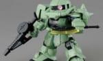 【ガンプラ】SDガンダムクロスシルエット ザクⅡのテストショットレビューが公開!