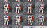 【画像】今までガンプラで出た初代ガンダムを並べてみた結果→